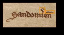 Sandom[ir]ien[sis]