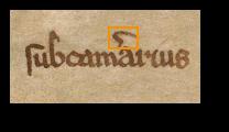 subcam[er]arius