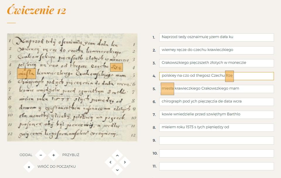 Zasady Dokonywania Transkrypcji Dawne Pismo
